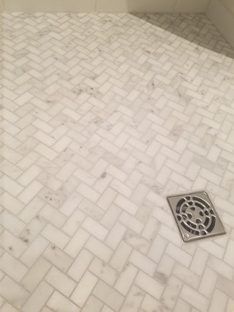 Guest Shower Floor