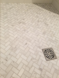 Guest Shower Floor