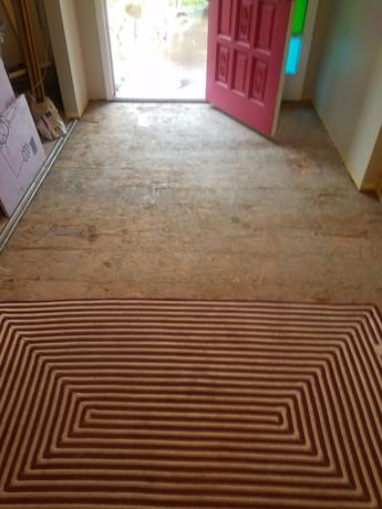 """Foyer Floor """"Before"""""""