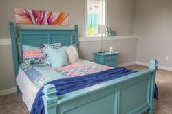 Staged Teen Bedroom