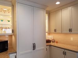 Lighting in Glass Cabinet Doors