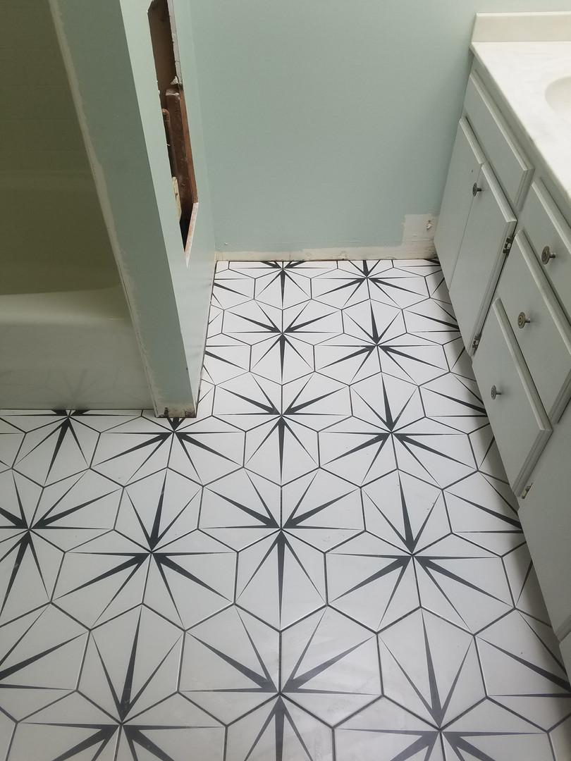 New Tile Floor-So Cool!