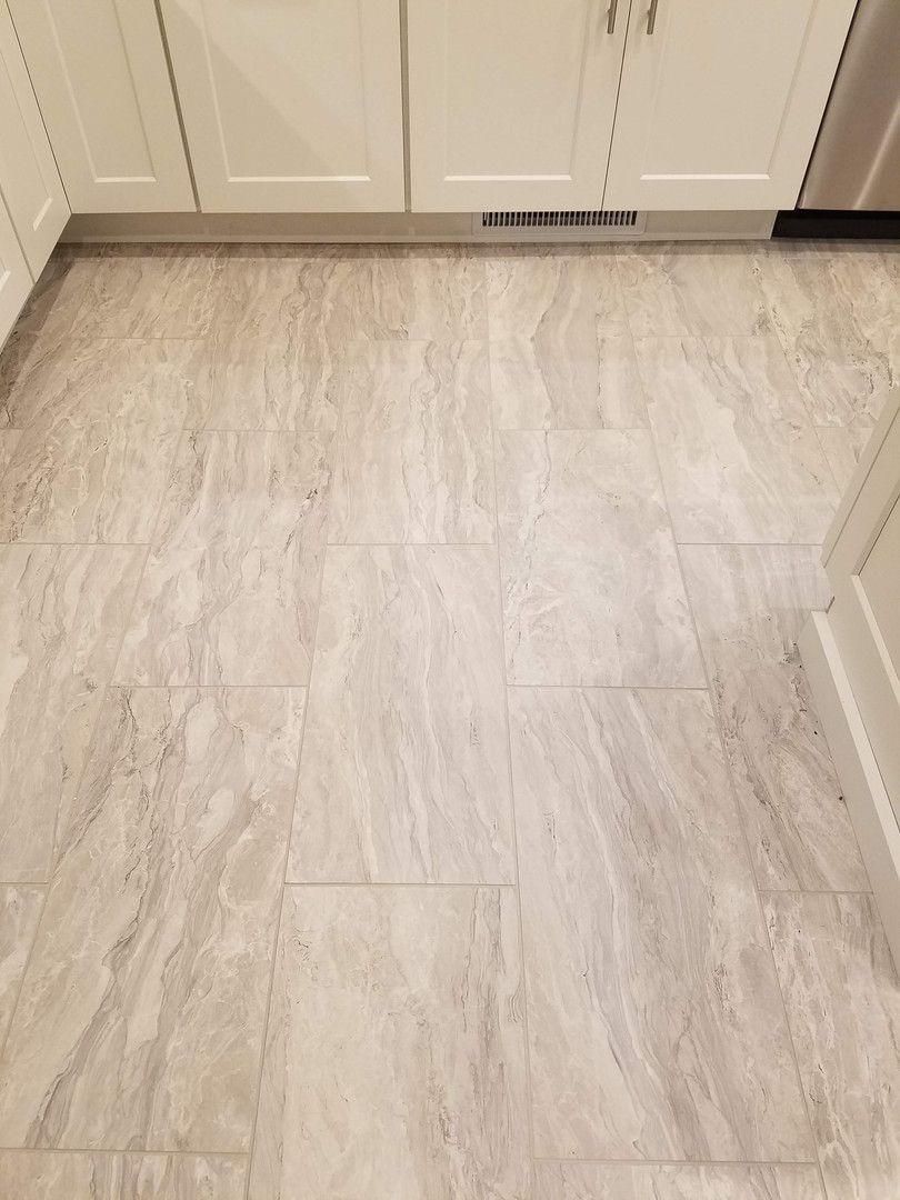 New 12 x 24 TIle Flooring