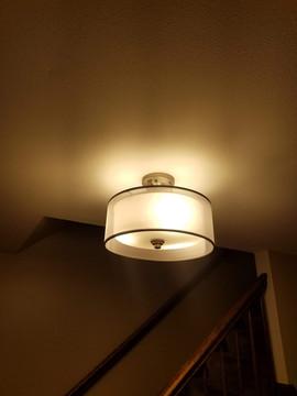 New Flush Mount Light Fixture