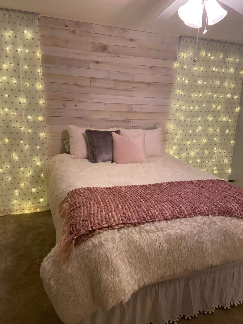 LED Twinkle Curtain Lights