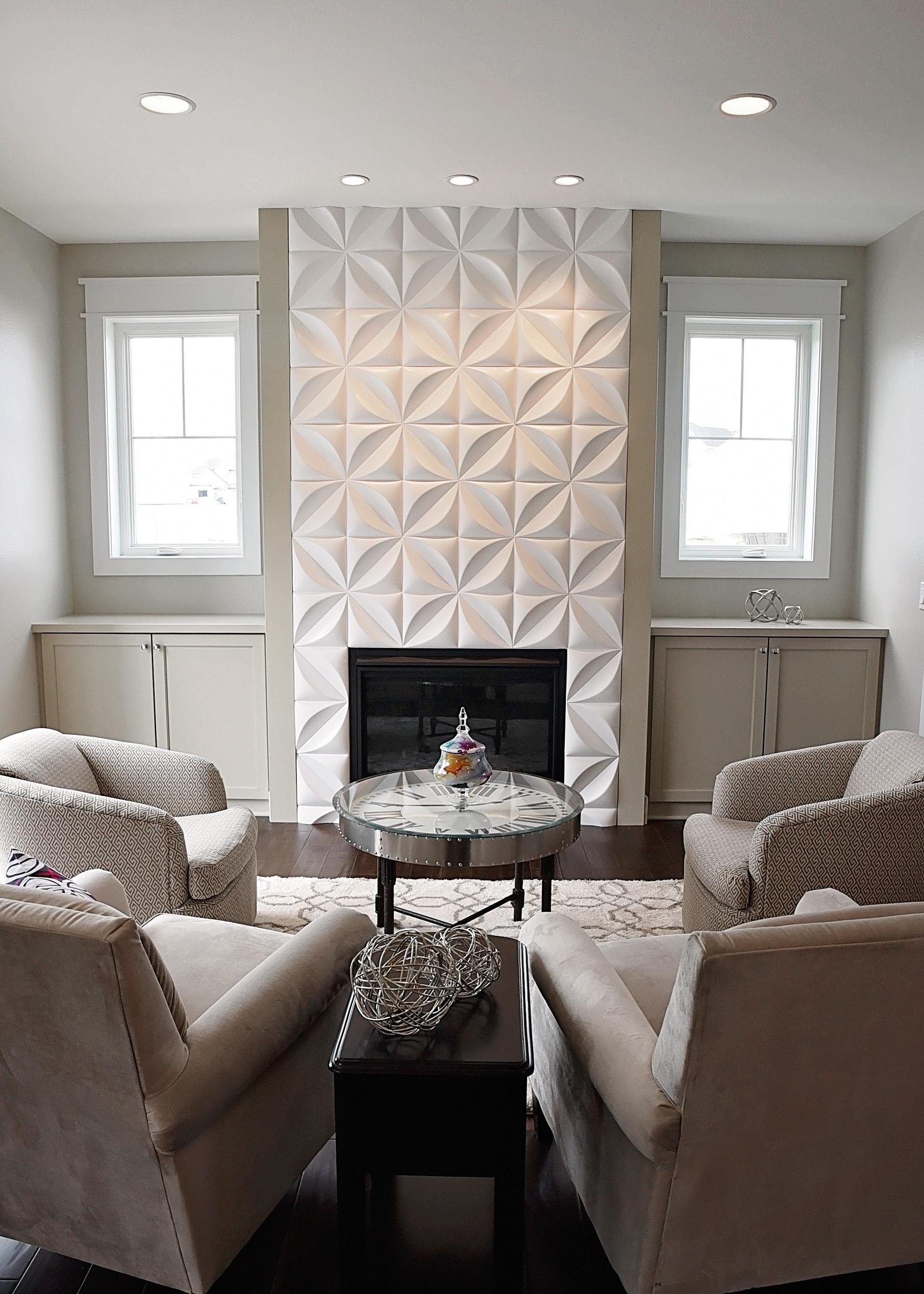 Unique Fireplace Surround