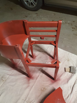 First Coat of Paint