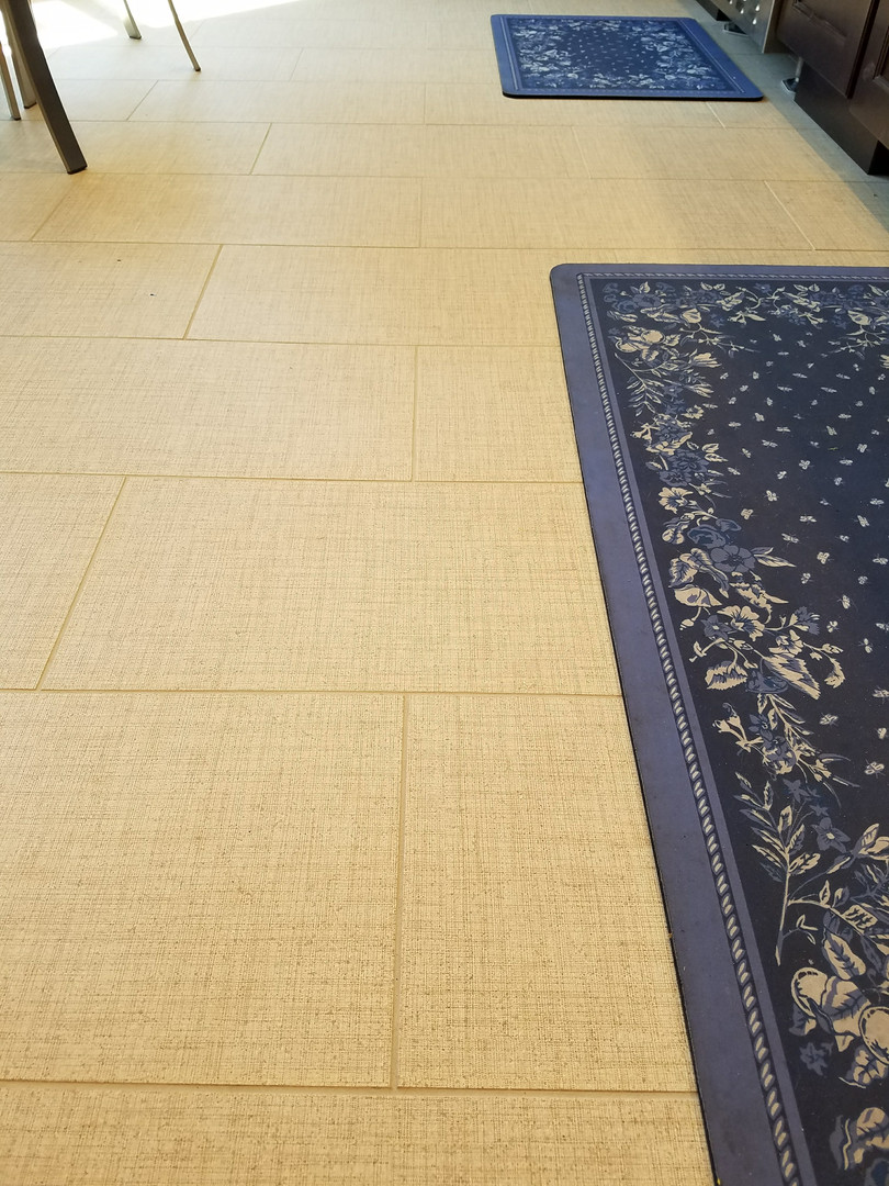 12 x 24 Brick Set Tile-Linen Pattern