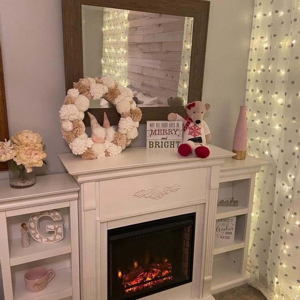 Electric Fireplace Ambiance!