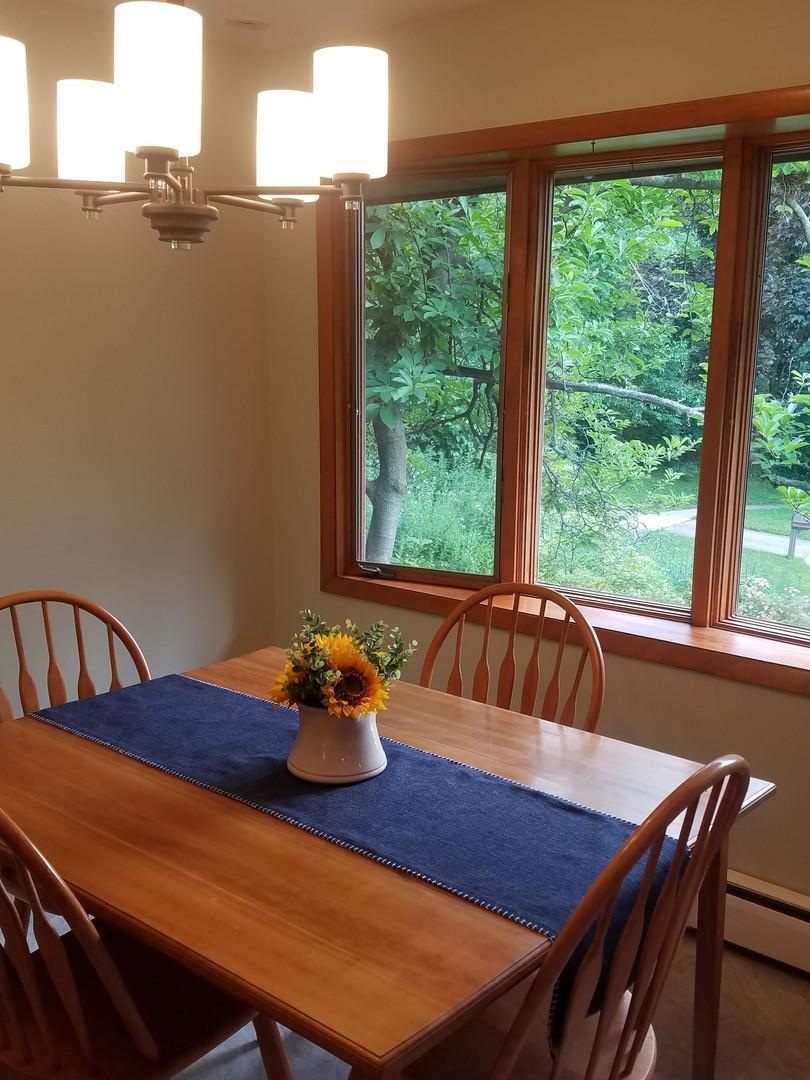 New Dinette Fixture & Paint