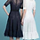 Thumbnail: Convertible Fit and Flare Dress
