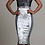 Thumbnail: Athletic Jersey Inspired Mix Metallic Sheath