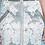 Thumbnail: Metallic Brocade Pencil Skirt in ZINC