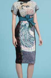 Sequin Geisha Sheath