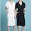 Thumbnail: New Drape Twill Trench Dress