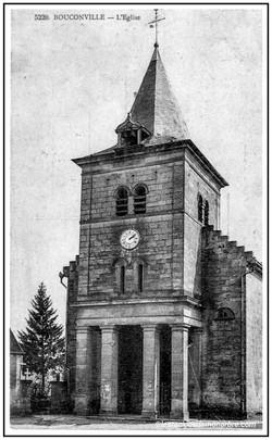 L'ancienne église de Bouconville-Vauclair