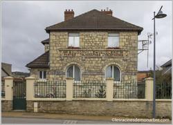 Ancien bureau de poste de Bouconville-Vauclair (02)