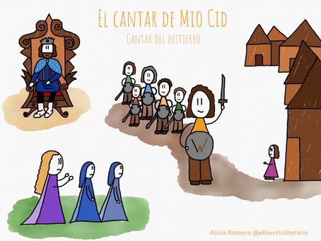El Cantar de Mio Cid en imágenes