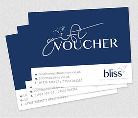 Bliss gift voucher