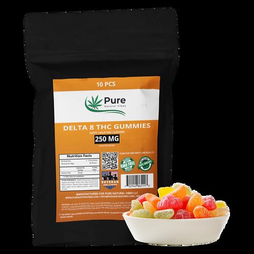 Delta 8-THC Gummy Fruit Slices
