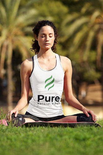 Pure Natural Vibes Women Spandex Tank Top