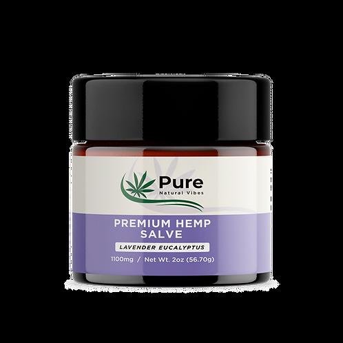 Premium Hemp Salve Lavender Eucalyptus 1100mg