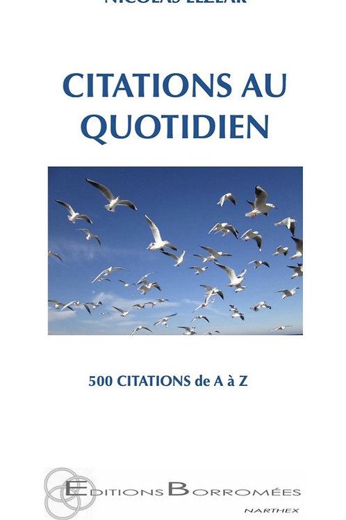 CITATIONS AU QUOTIDIEN