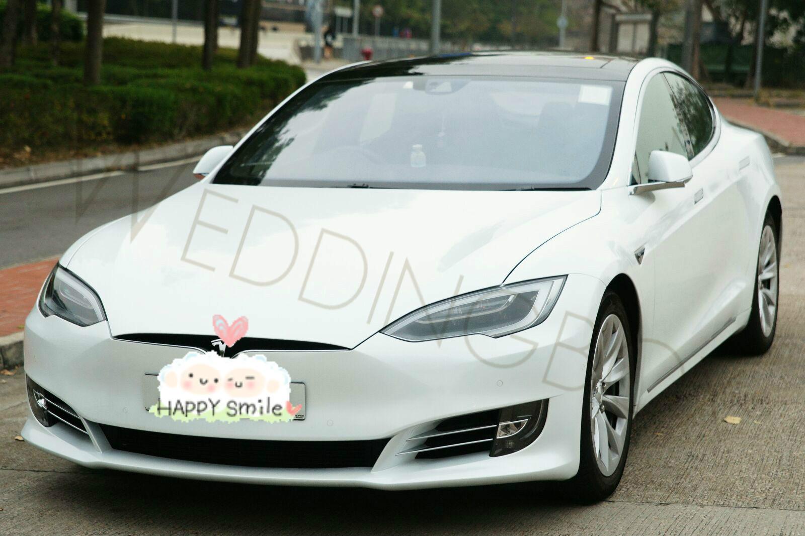 Tesla S 新款-白色