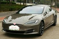 Tesla S 新款-金色