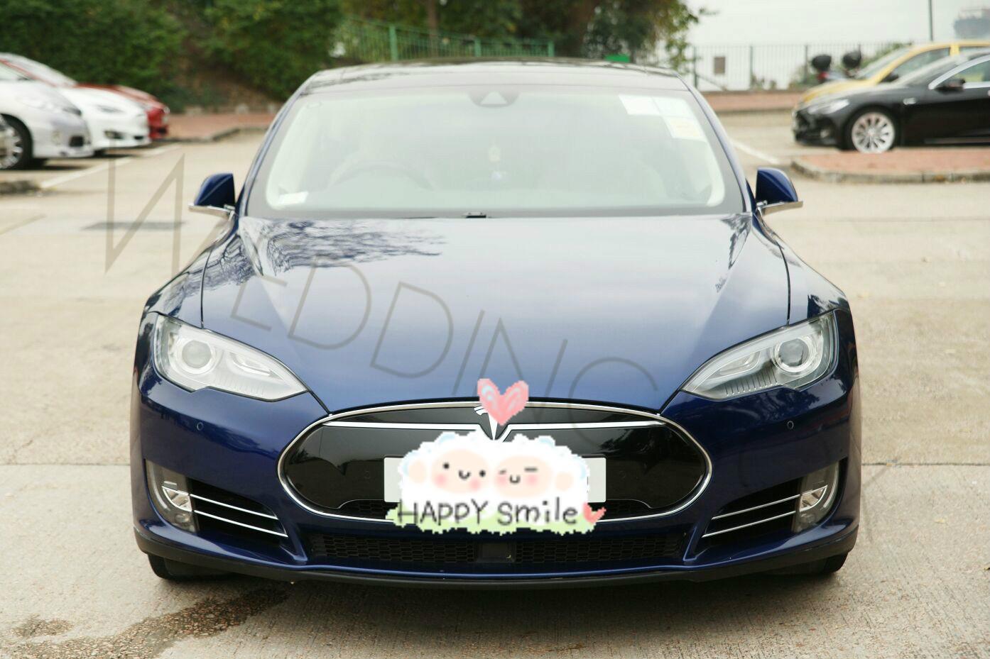 Tesla S 藍色