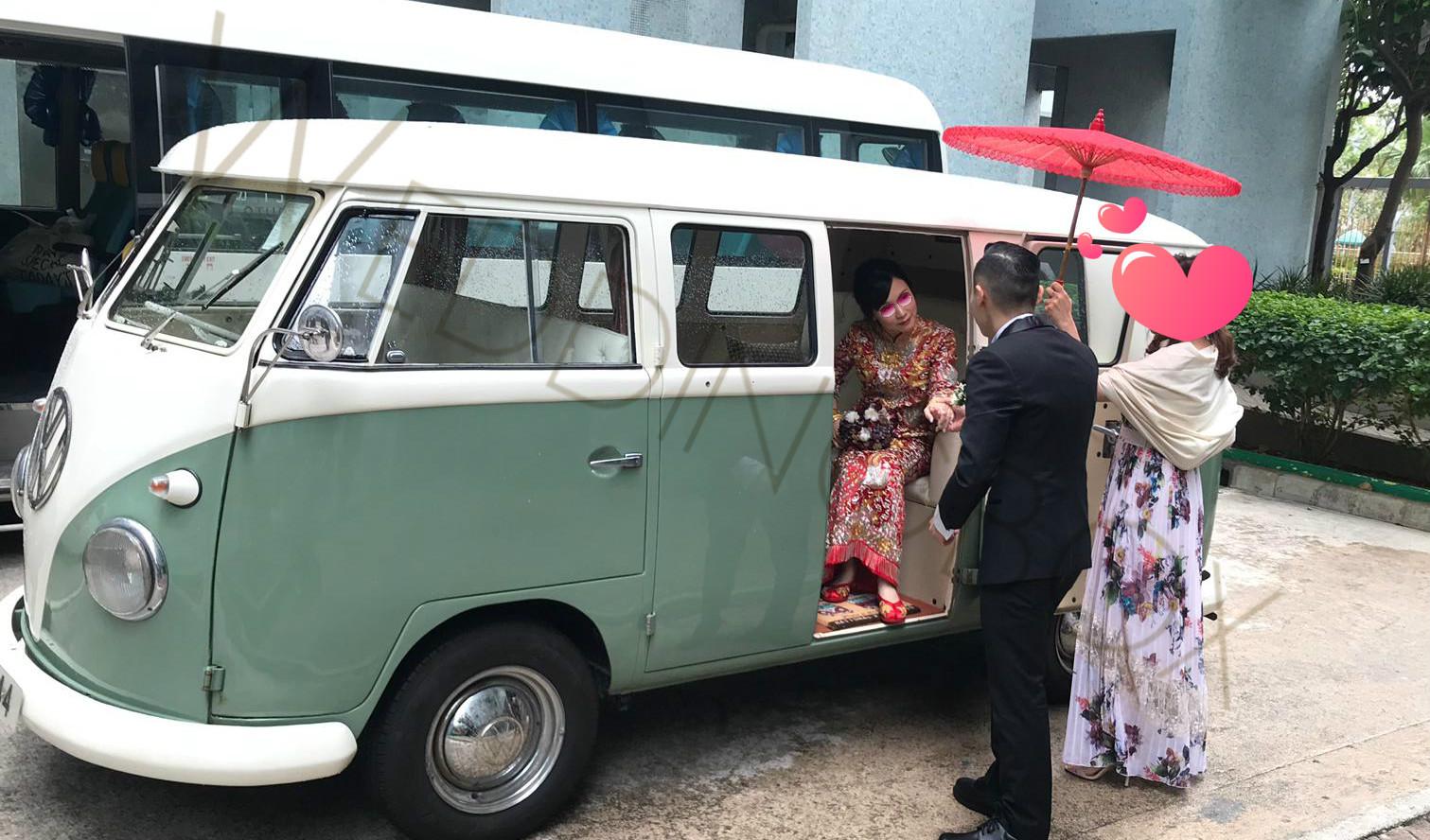 Volkswagen-淺綠-vw