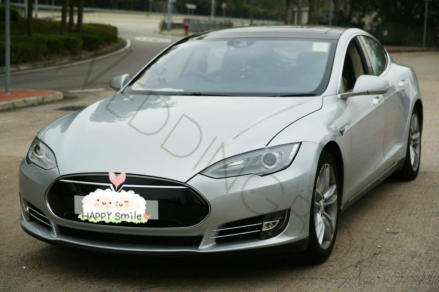 Tesla S 銀色