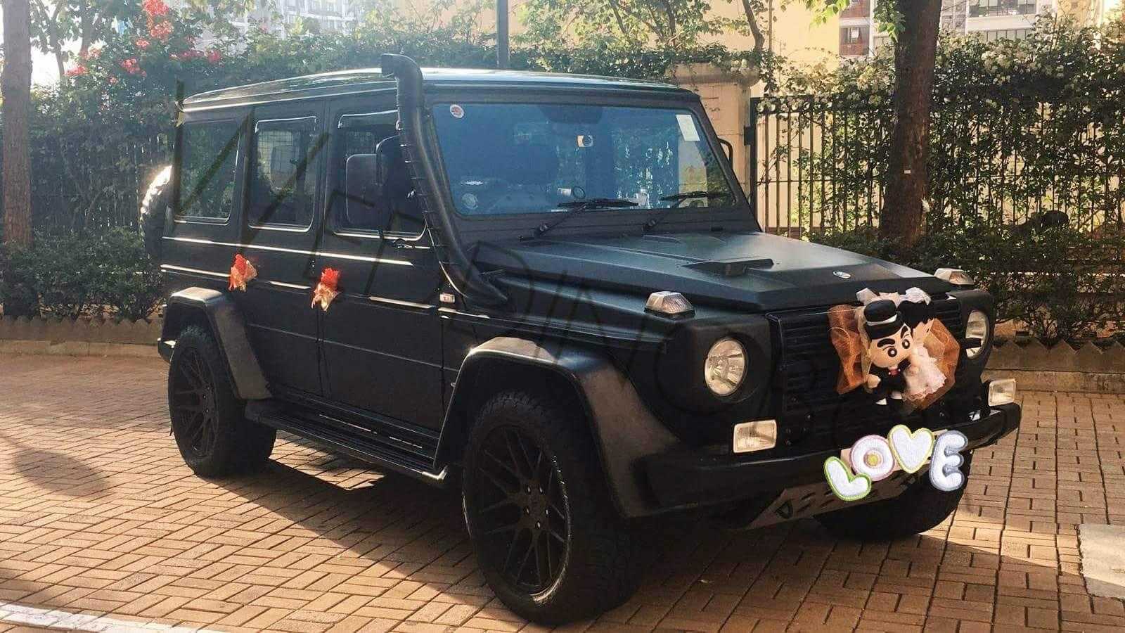 Benz- G Class (黑色) JS