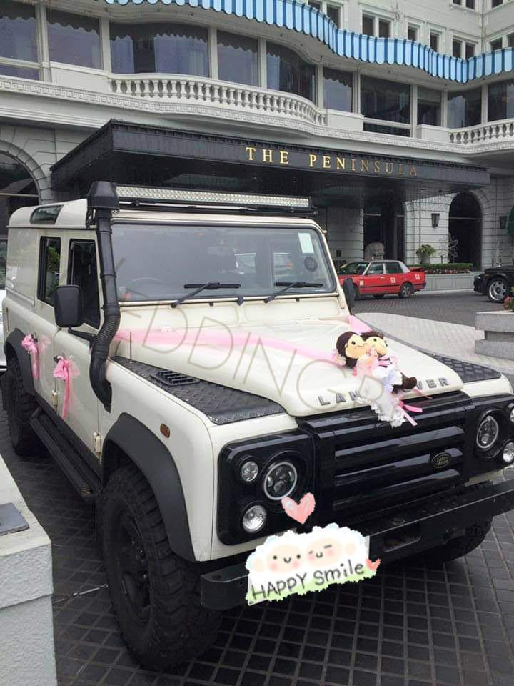 Land Rover Defender (白)