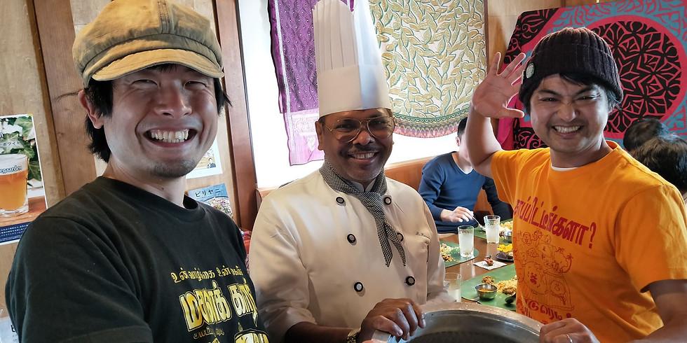 Mashalフセインシェフとマサラワーラーのコラボイベント第三弾!南北インド粉モン食べ比べ回@池上HITONAMI
