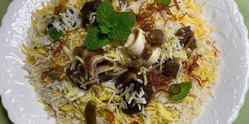 フセインシェフ&マサラワーラー  南北インド・ビリヤーニー3種食べ比べ会