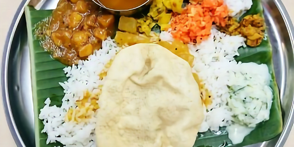 11/16 (土) 15:00〜スパイスの極意を学んで南インド料理を作ろう!〜チェティナードカレー〜