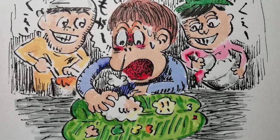 日本橋でミールス(南インド定食)食べさせられ放題 Vol.21 みんなでミールス食べるでござる〜
