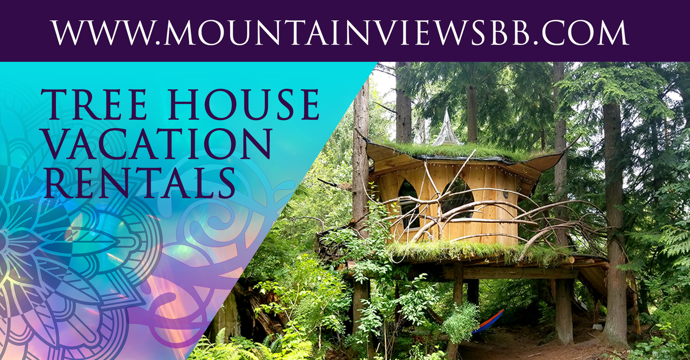 Cannabis Tourism Mountain Views Tree House Joint United States