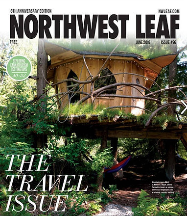 Northwest Leaf journal cover