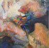 "Cosmos | Acrylic on canvas, 18""x 24"","