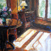 At Sourwood Inn | Oil on Paper, 11x14