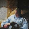 The Reader | Acrylic on canvas, 12x16