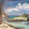 Yucatan Waterscape | Pastel on paper, 16x20.jpg