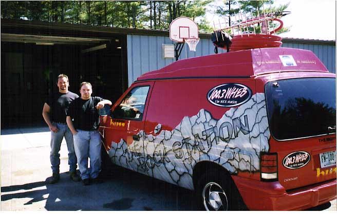 WHEB Rock Van