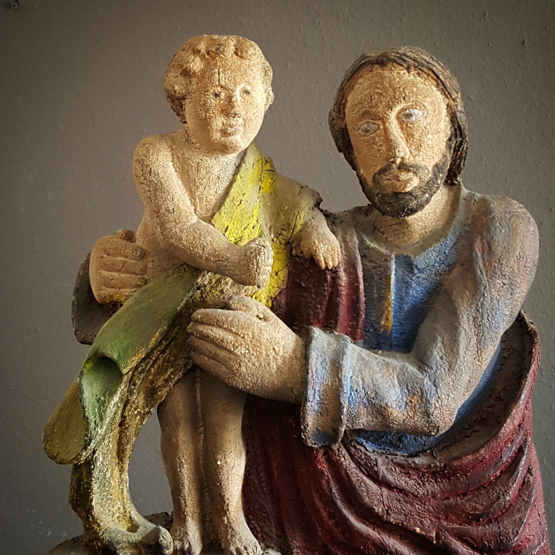 Polychrome Saint Joseph