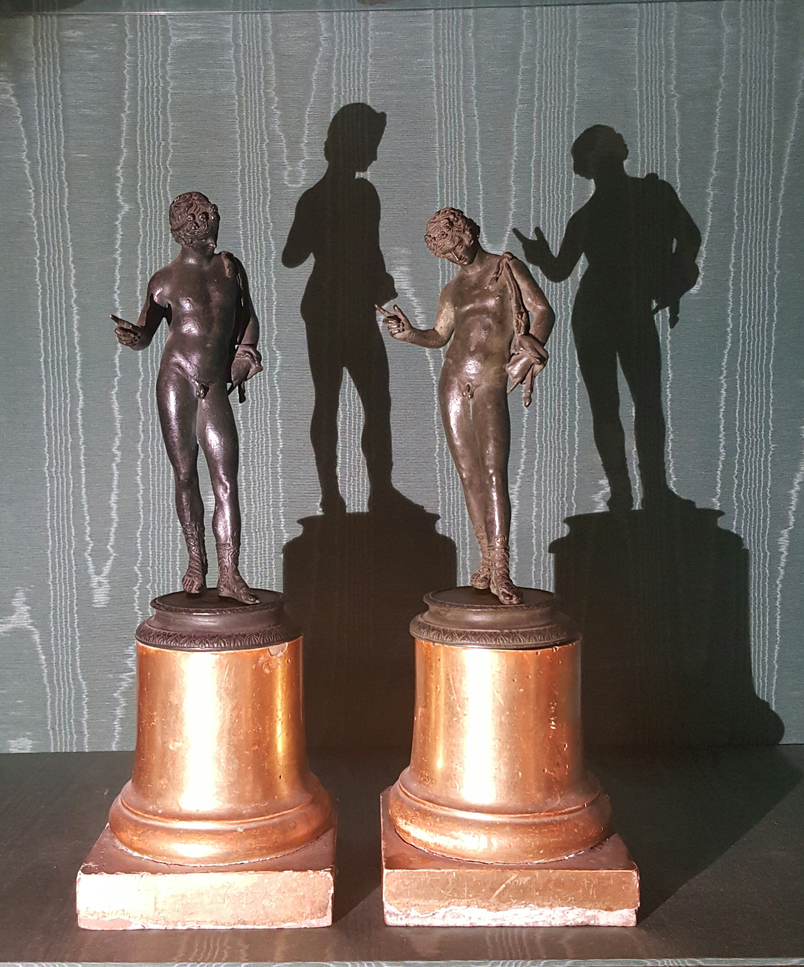 Pair of 19th century Bronzes