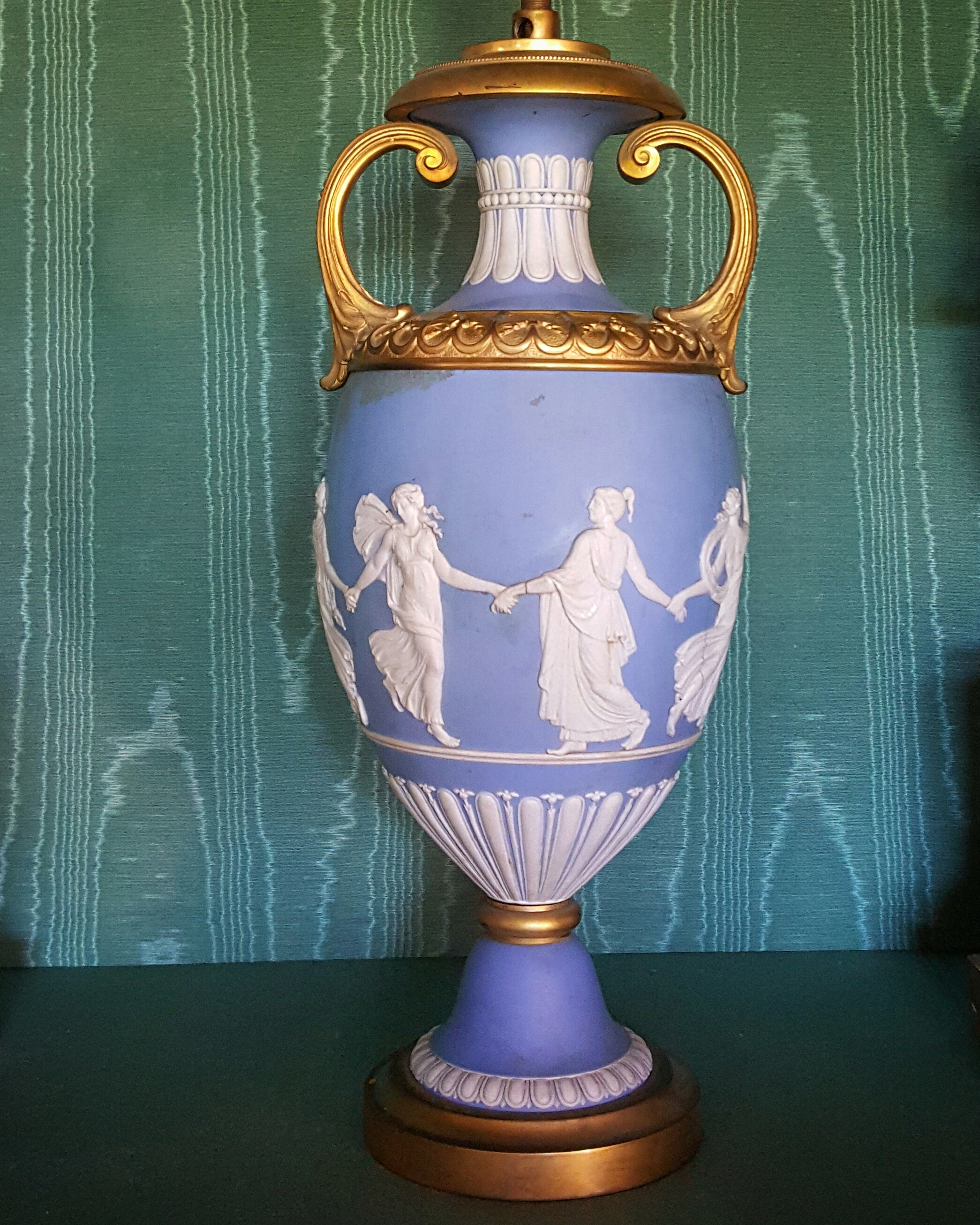 Wedgwood /Ormolu Mounts