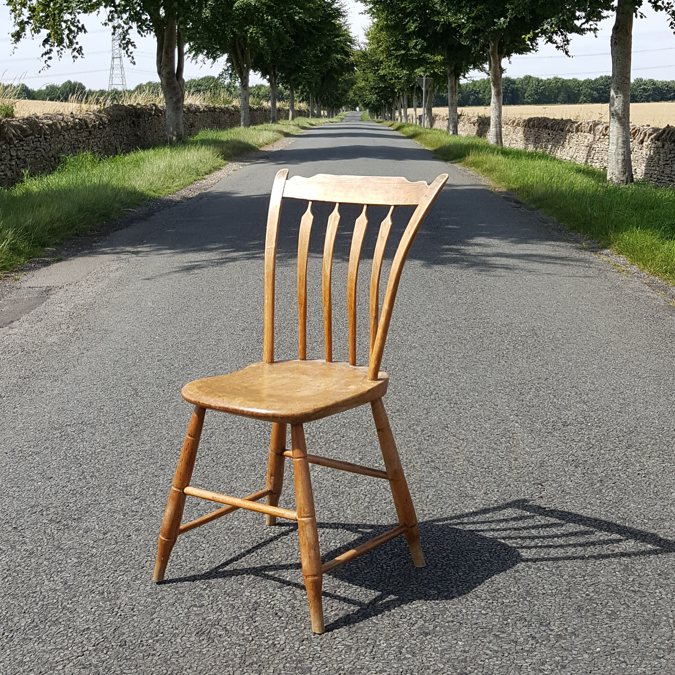Set of Six Country Chairs