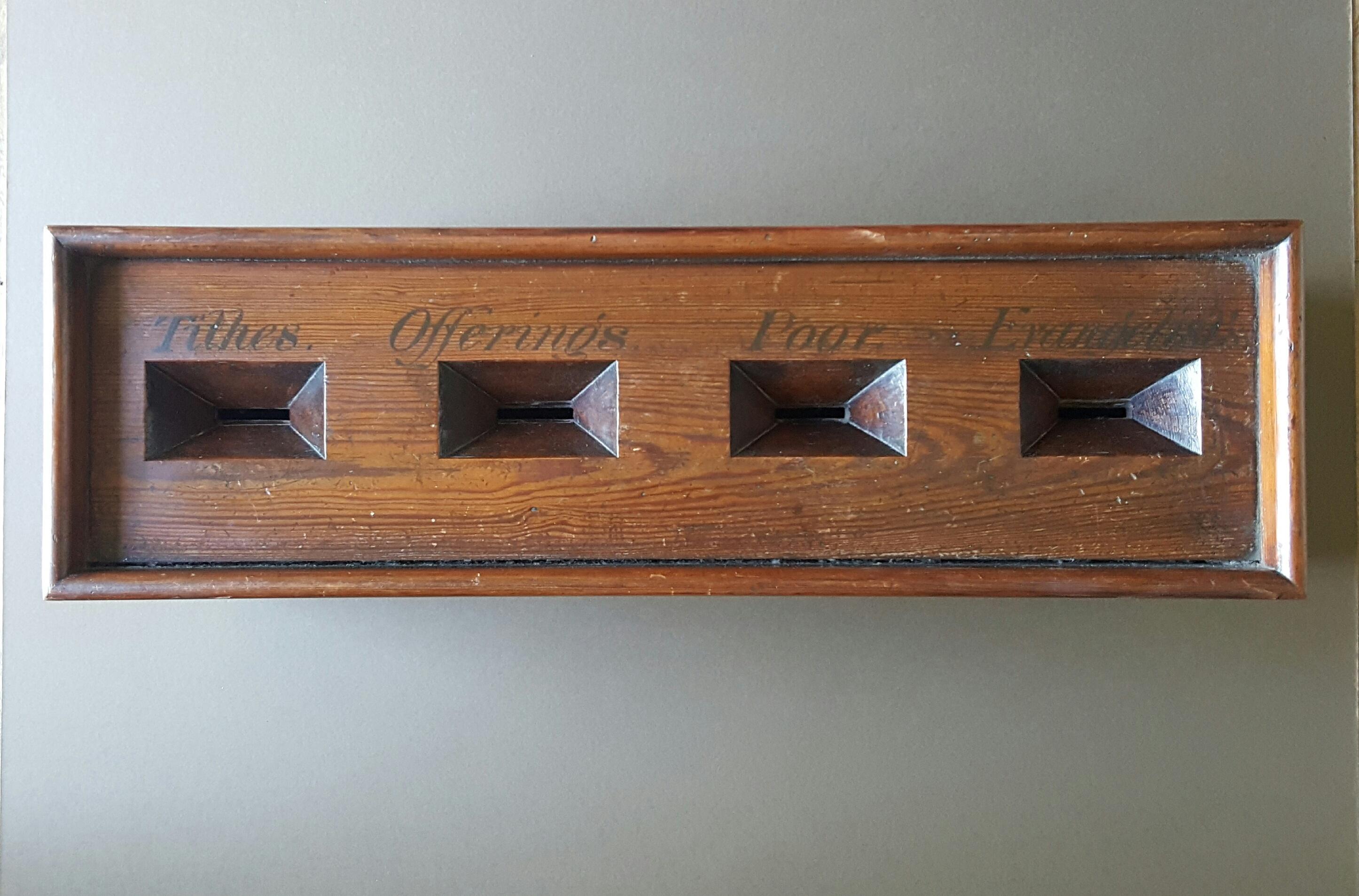 Victorian Offertory Box